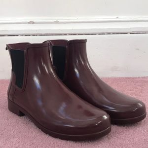 Ankle rain boots from Hunter